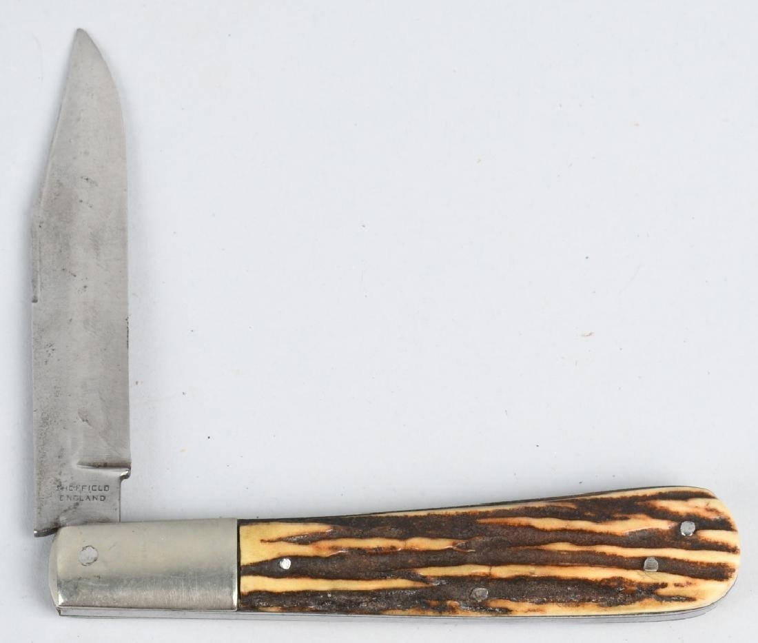 4 - POCKET KNIVES JONA CROO, BALDWIN, WOSTENHOLM - 3