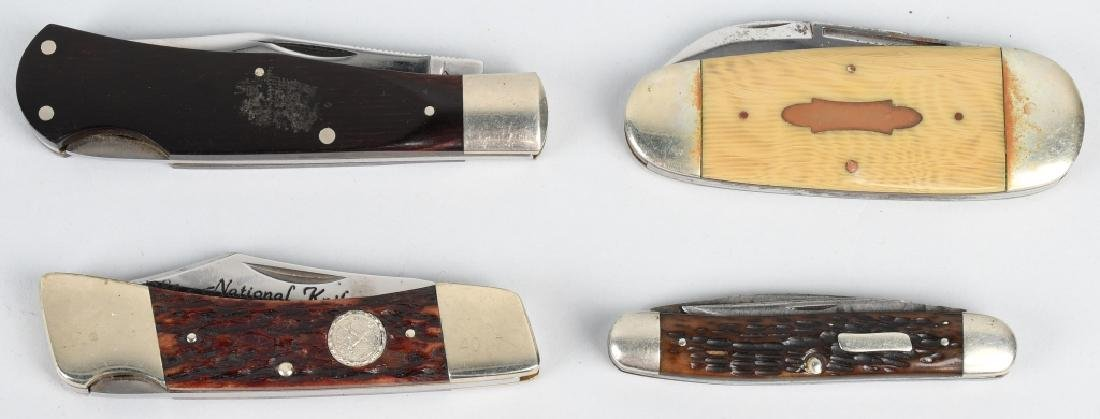 4- POCKET KNIVES BERTRAM, CUTCO, CATTURAGUS ETC - 8