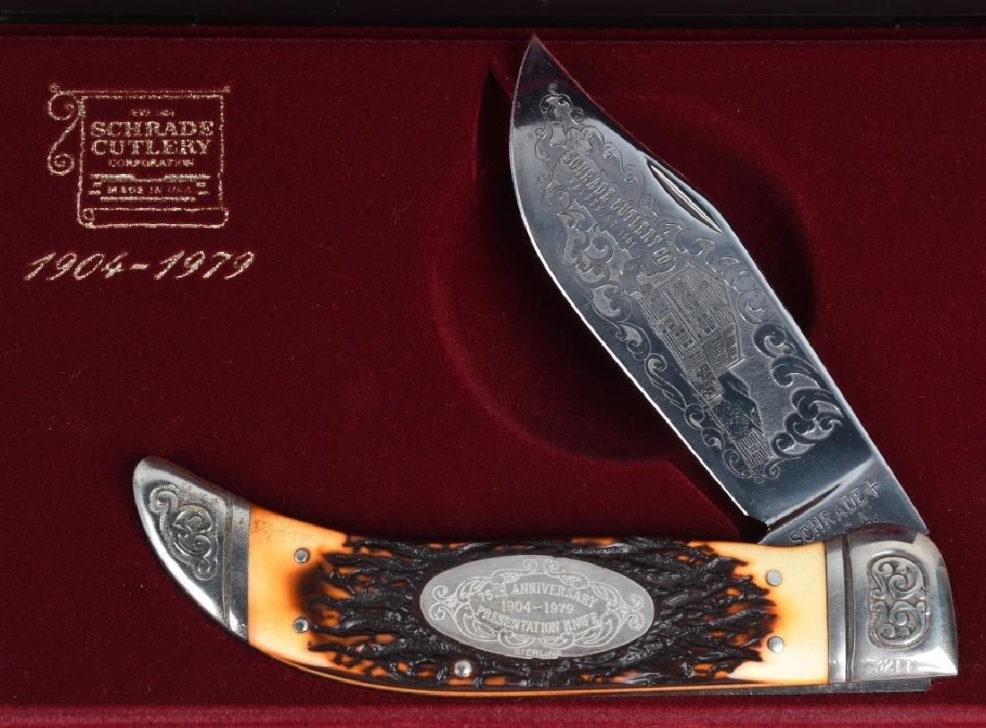 4 - SCHRADE KNIVES 75th LINEMAN TICKLER - 2