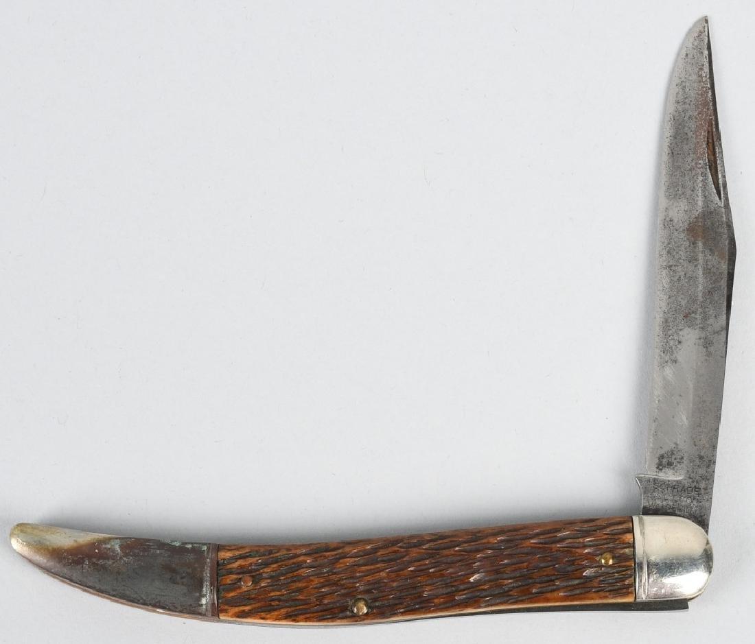 4 - SCHRADE KNIVES 75th LINEMAN TICKLER - 3