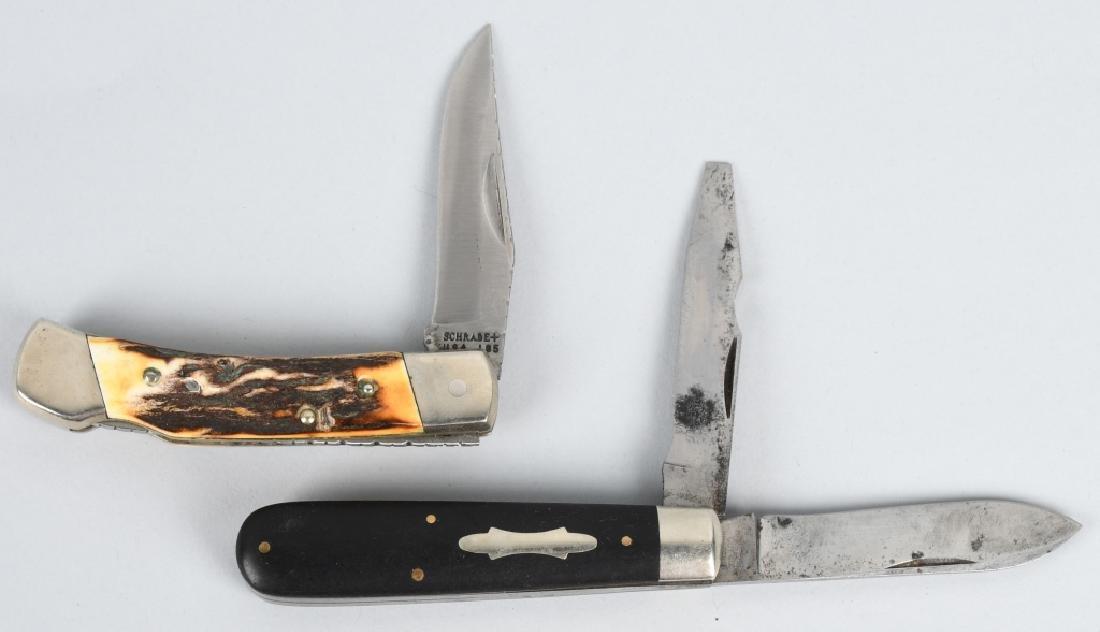 4 - SCHRADE KNIVES 75th LINEMAN TICKLER - 5