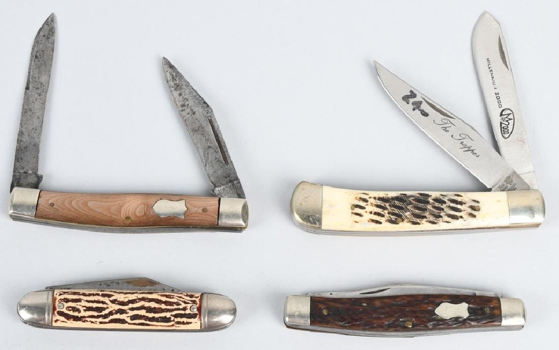 4 - FOLDING KNIVES KING FROST etc...