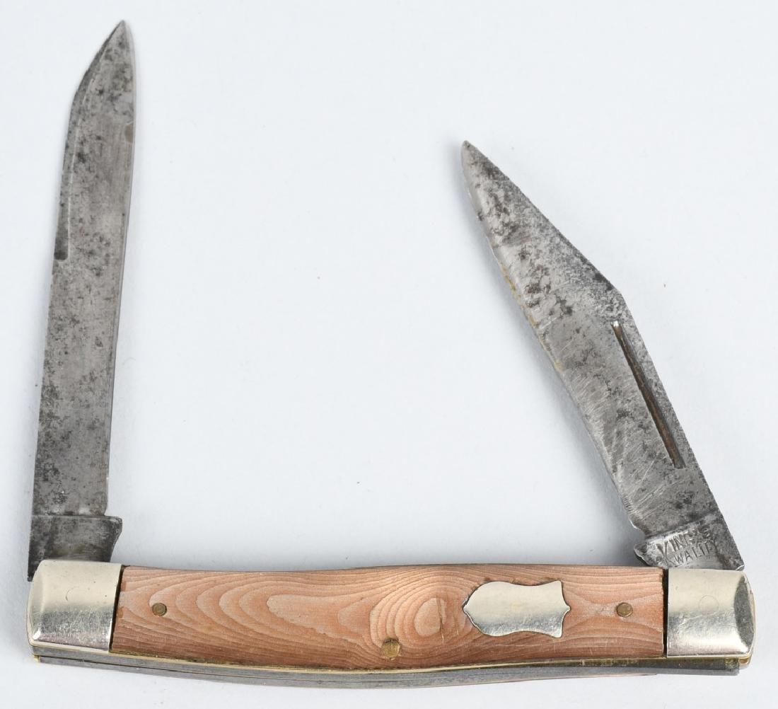 4 - FOLDING KNIVES KING FROST etc... - 4