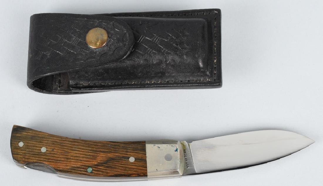 2- FOLDER KNIVES KERSHAW GEAR LOCK & S&W USA - 2