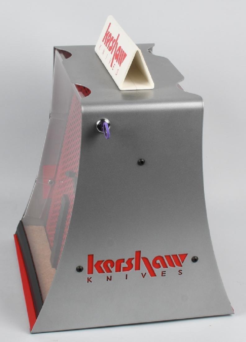 KERSHAW KNIVES ROTATING COUNTERTOP DISPLAY CASE - 2