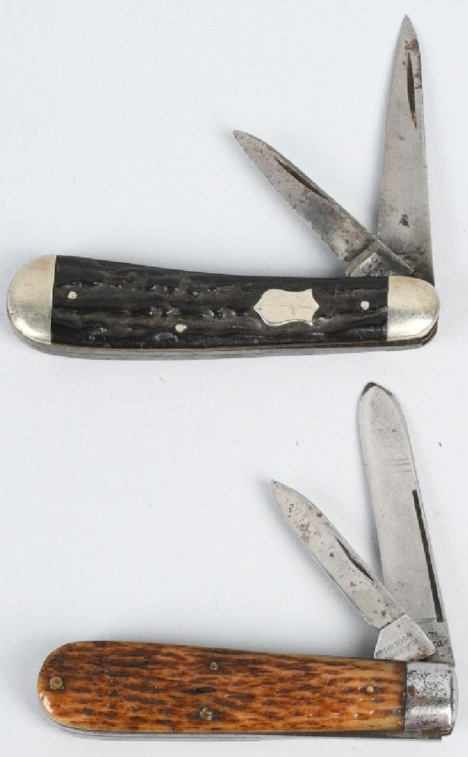 3 - EARLY POCKET KNIVES PLATT BROS TRENTON L F C - 4