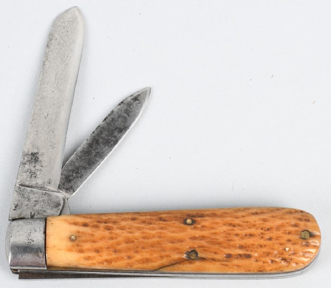 3 - EARLY POCKET KNIVES PLATT BROS TRENTON L F C - 6