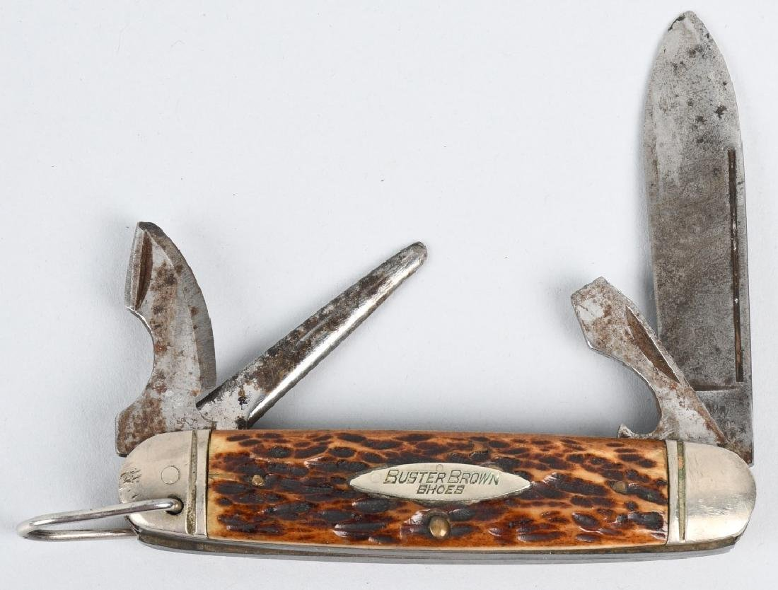 4 - ADVERTISNG POCKET KNIVES BUSTER BROWN ETC... - 2