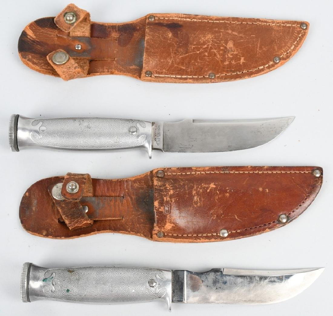 2- KA-BAR HUNTER FAVORITE SURVIVAL KNIFES