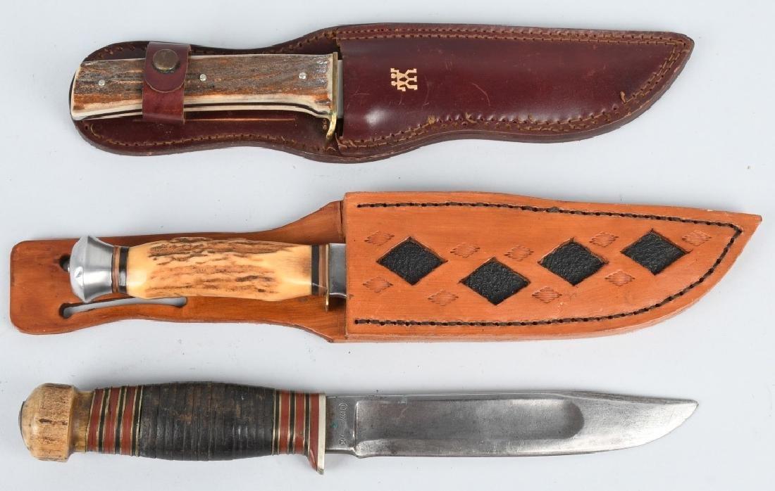 3-HUNTER KNIVES HENCKELS WADE & BUTCHER GAMBILL - 7