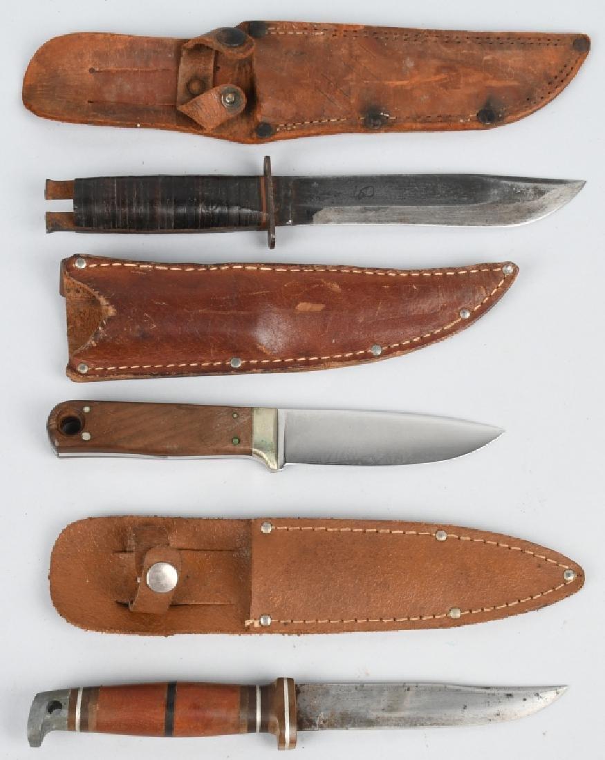 3 - KNIVES CASE WESTERN WENSKE