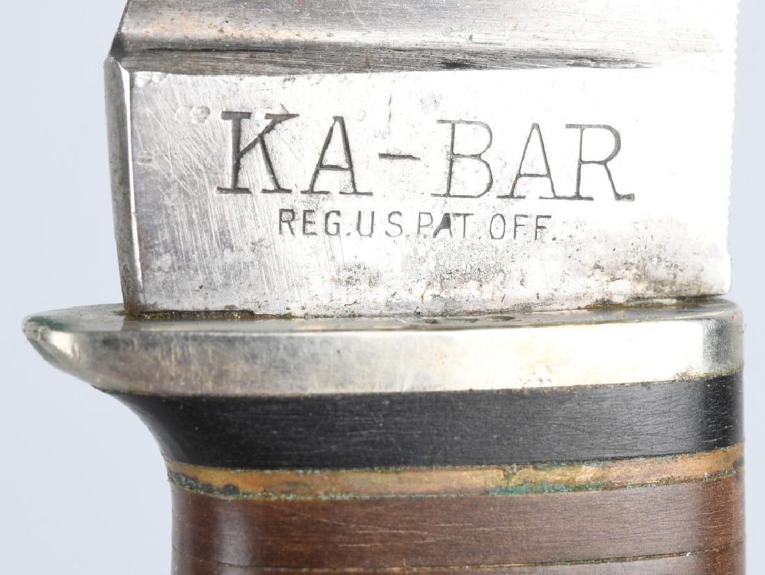 3- KA-BAR SCHRADE HUNTER SKINNER KNIVES - 5