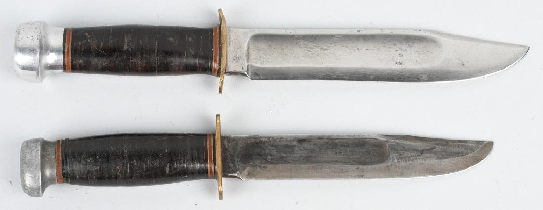 2 MARBLES KNIVES EXPERT & CANOE - 2