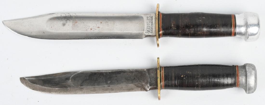 2 MARBLES KNIVES EXPERT & CANOE - 3