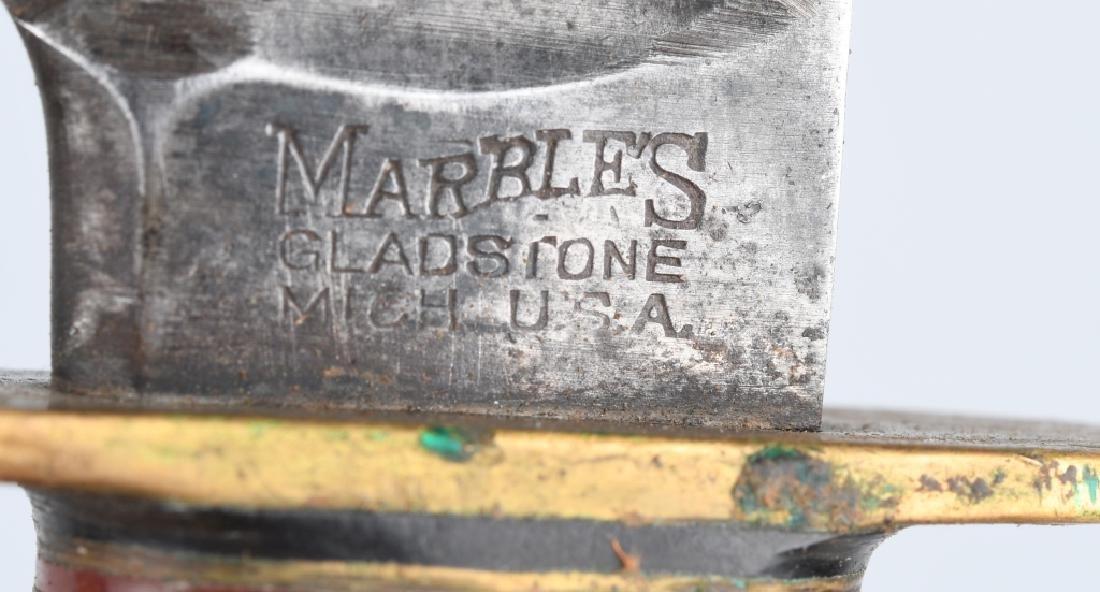 2 MARBLES KNIVES EXPERT & CANOE - 5