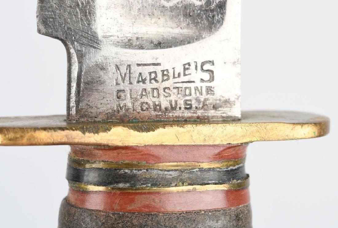 2- MARBLES KNIVES HUNTER & PREWAR SPORTS - 5