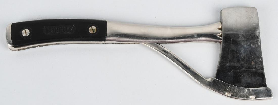 EARLY PRE-WAR MARBLES SAFETY POCKET AXE 2