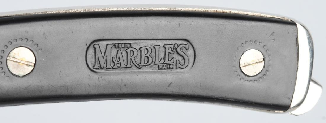 EARLY PRE-WAR MARBLES SAFETY POCKET AXE 2 - 3
