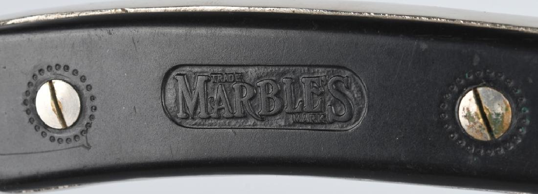 EARLY PRE-WAR MARBLES SAFETY POCKET AXE 2 - 4