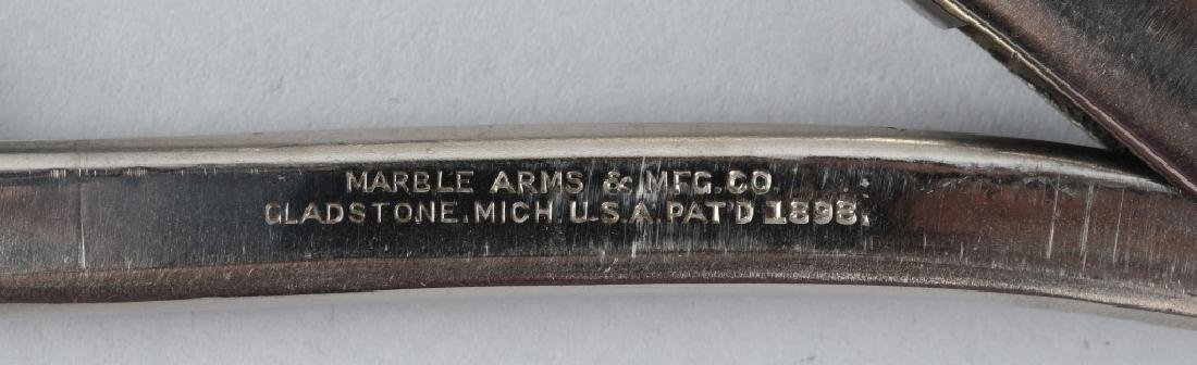 EARLY PRE-WAR MARBLES SAFETY POCKET AXE 2 - 5