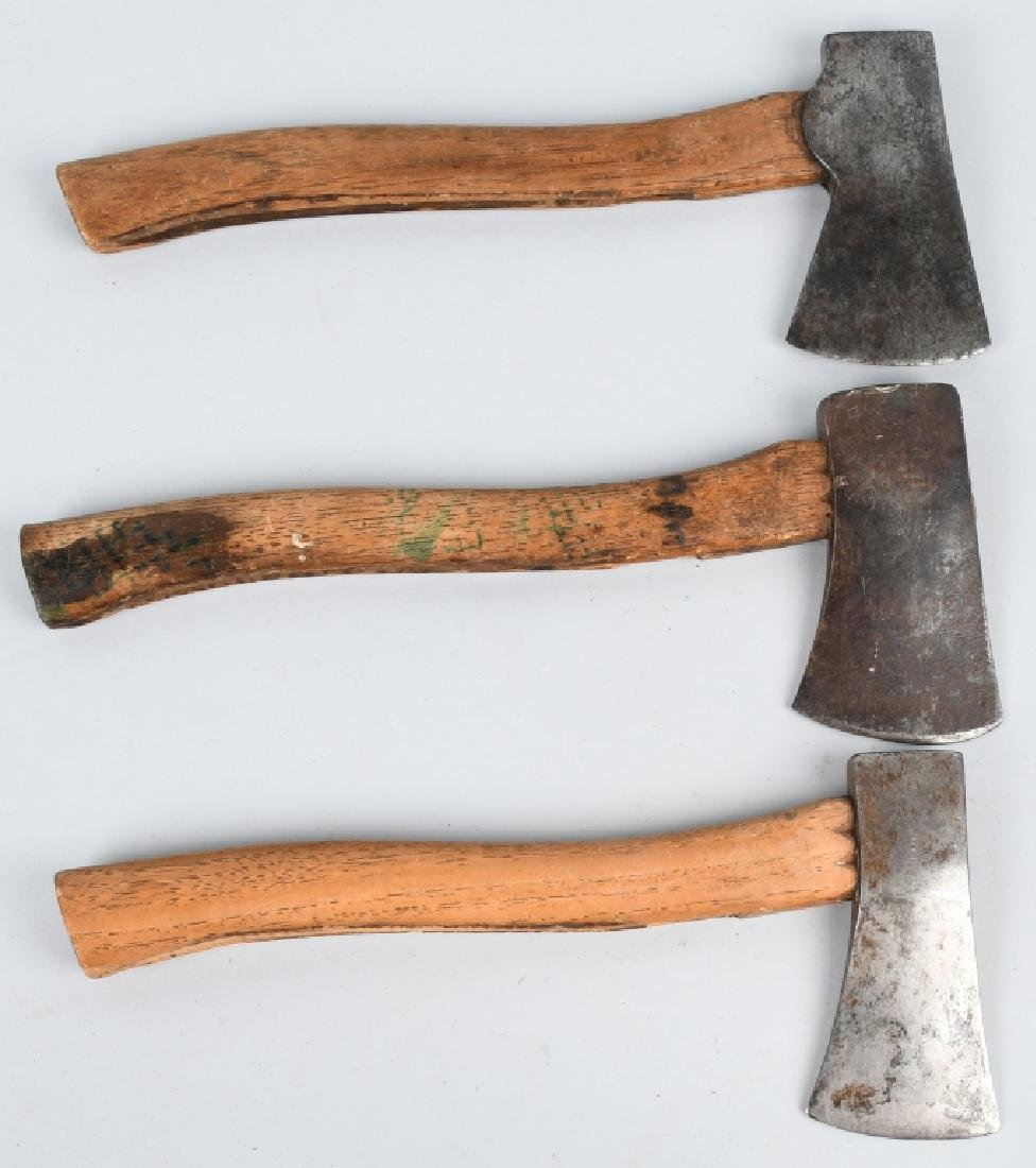 3- MARBLES SAFETY POCKET AXES NO 5 ETC