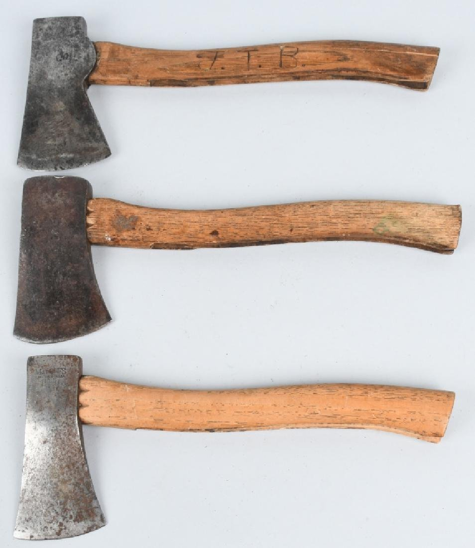 3- MARBLES SAFETY POCKET AXES NO 5 ETC - 9