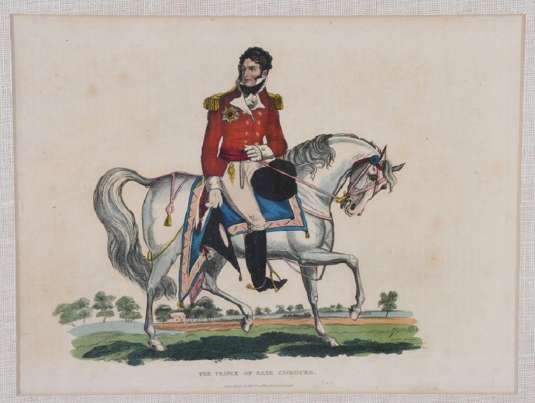 NAPOLEONIC WAR LITHOGRAPHS COMMANDERS PUBL 1815-16 - 10