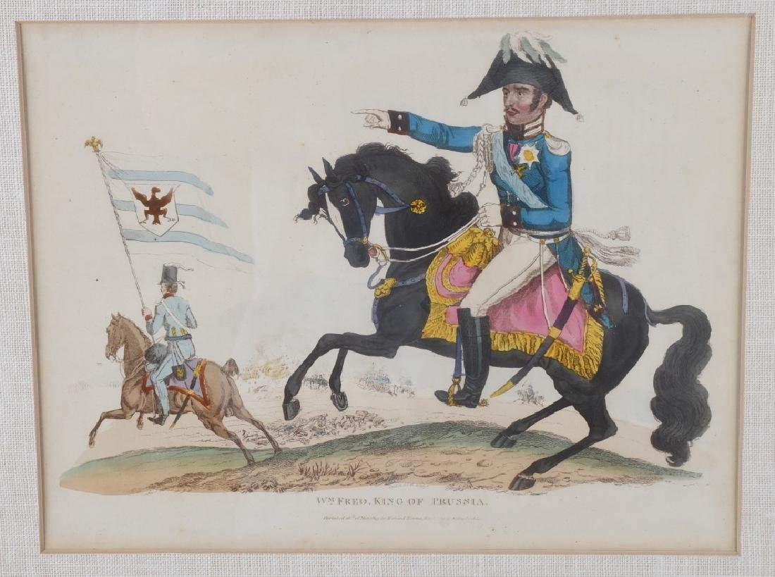 NAPOLEONIC WAR LITHOGRAPHS COMMANDERS PUBL 1815-16 - 4