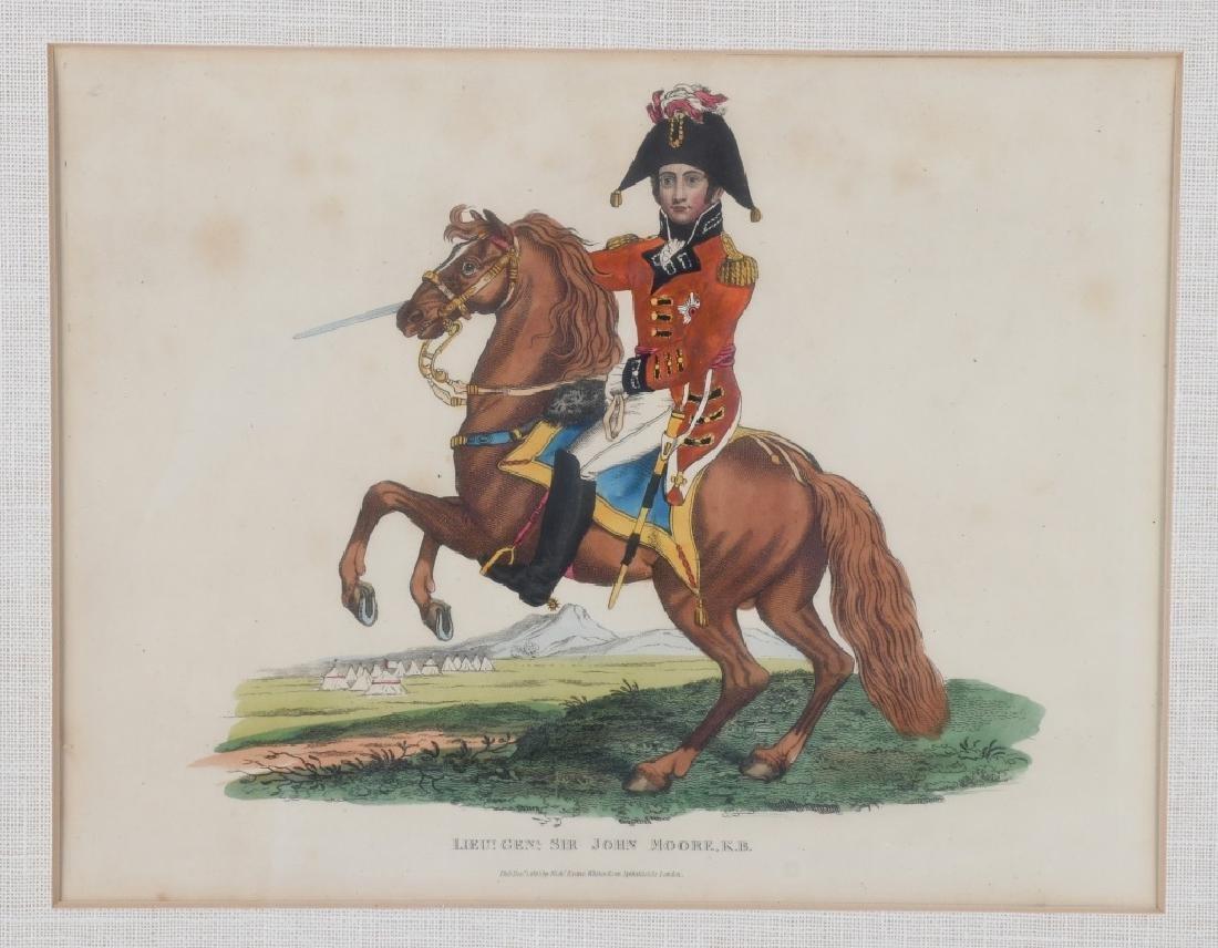 NAPOLEONIC WAR LITHOGRAPHS COMMANDERS PUBL 1815-16 - 7