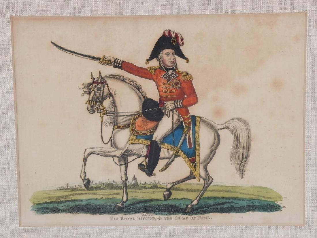NAPOLEONIC WAR LITHOGRAPHS COMMANDERS PUBL 1815-16 - 8