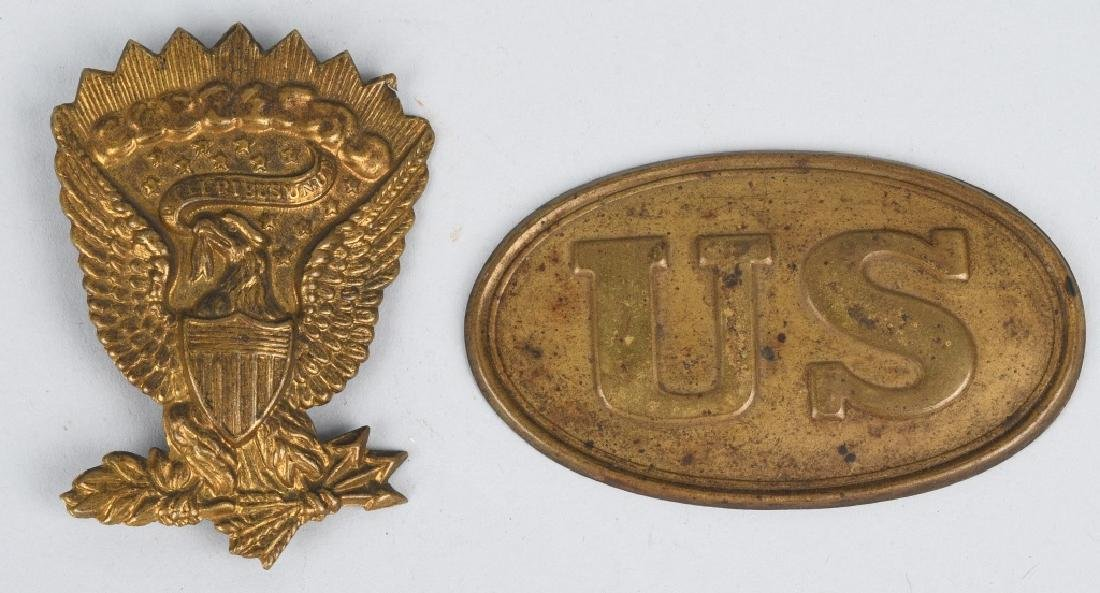 MEXICAN WAR - CIVIL WAR M39 BOX PLATE & HAT DEVCE