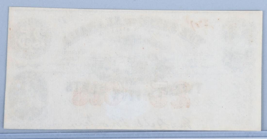 3-CIVIL WAR CONFEDERATE & POSTAGE CURRENCY NOTES - 5