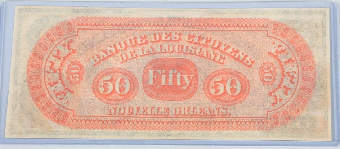 3-CIVIL WAR STATE of LOUISIANA NOTES, 1862 - 4