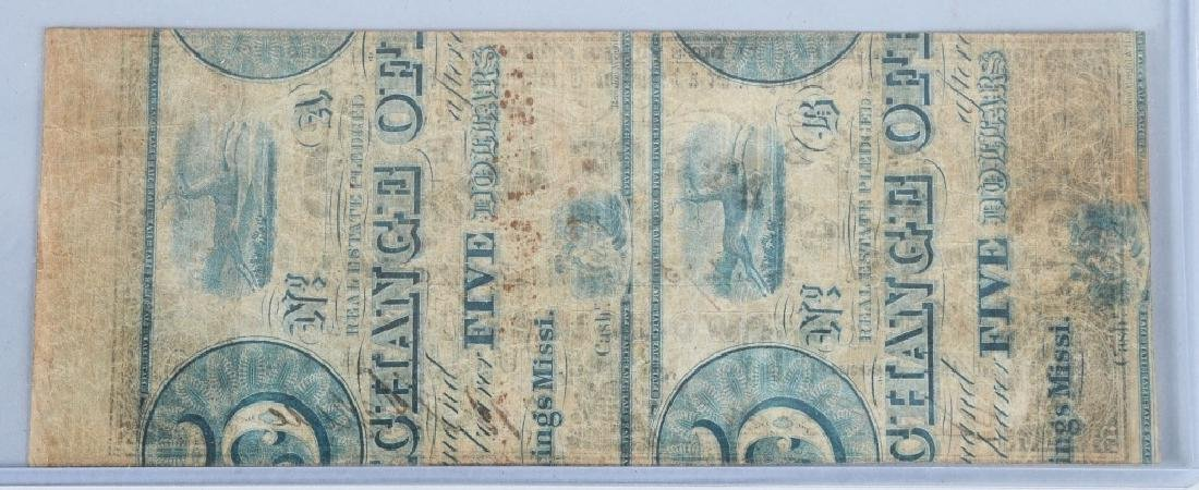3-CIVIL WAR STATE of LOUISIANA NOTES, 1862 - 8