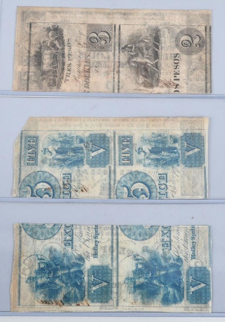 3-CIVIL WAR STATE of LOUISIANA NOTES, 1862 - 2