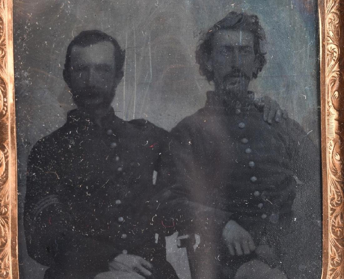 CIVIL WAR SOLDIER AMBROTYPE & IDED TINTYPE - 2