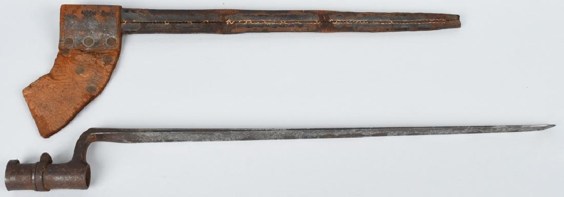 CIVIL WAR US MODEL 1861/63 BAYONET w/ SCABBARD