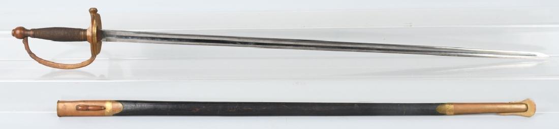 CIVIL WAR M 1840 NCO SWORD - AMES - 1864