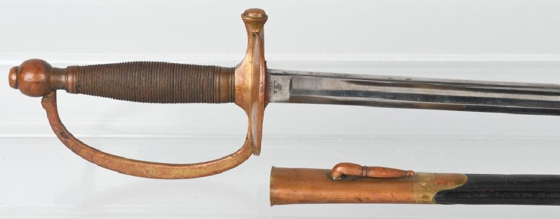 CIVIL WAR M 1840 NCO SWORD - AMES - 1864 - 2