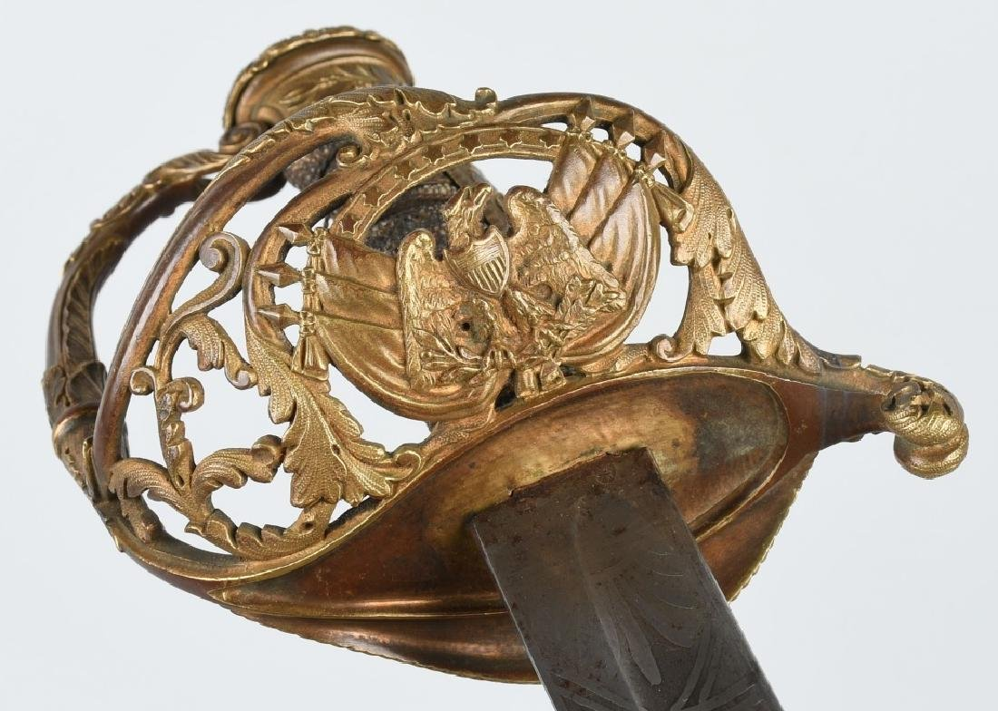 CIVIL WAR PRESENTATION GRADE M 1850 FOOT OF. SWORD - 4