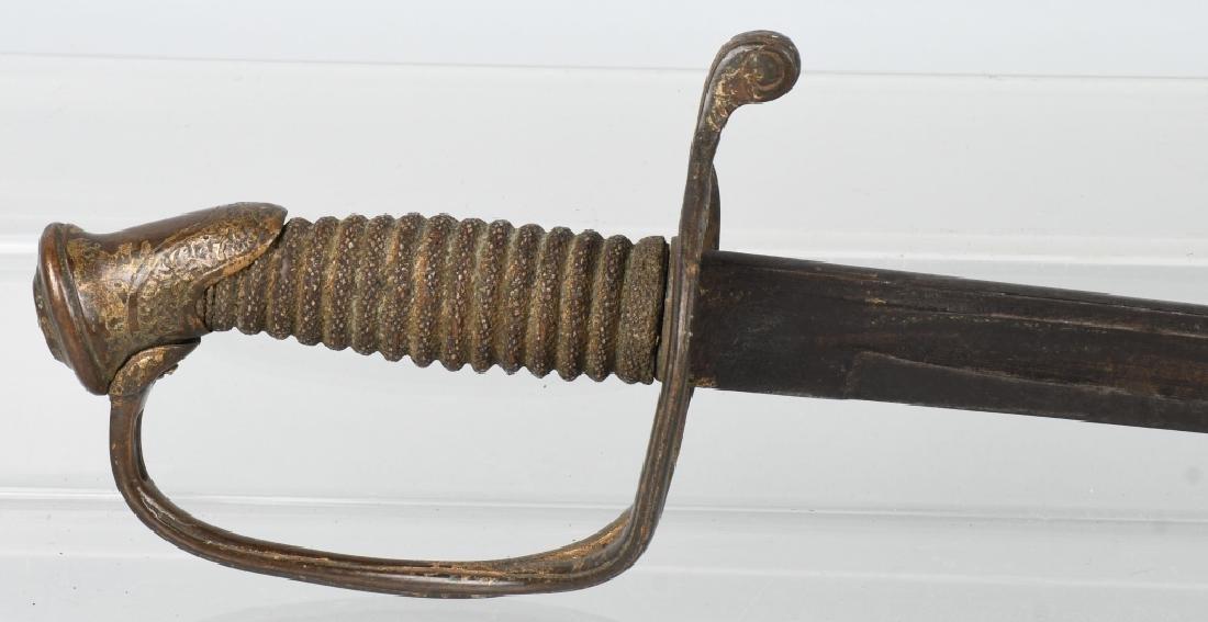 CIVIL WAR M 1850 FOOT OFFICERS SWORD - 2