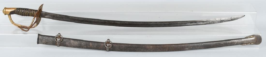 CIVIL WAR M 1860 CAVALRY SABER AMES MFG. 1864
