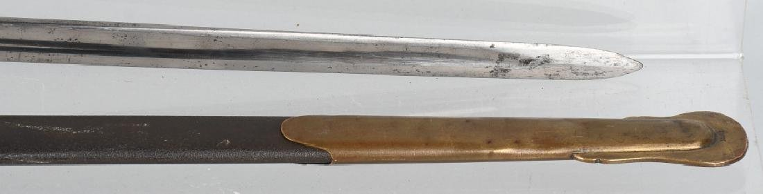 CIVIL WAR M 1840 NCO SWORD EMERSON & SILVER 1863 - 4