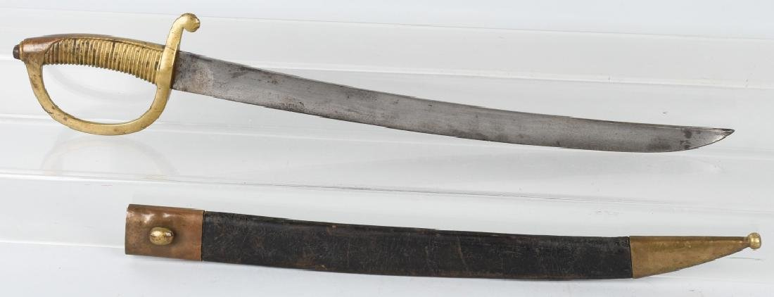 CIVIL WAR ERA NAVAL CUTLASS - FRENCH