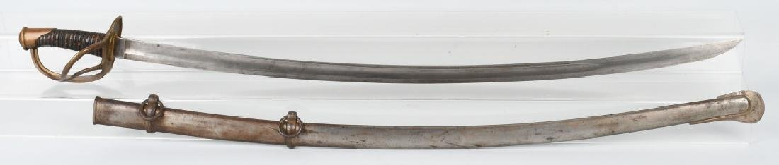 CIVIL WAR M1840 CAVALRY SABER - GERMAN IMPORT