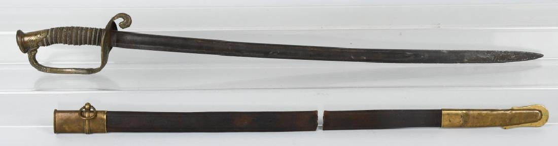 CIVIL WAR M1850 FOOT OFFICER SWORD HORSTMANN & SON