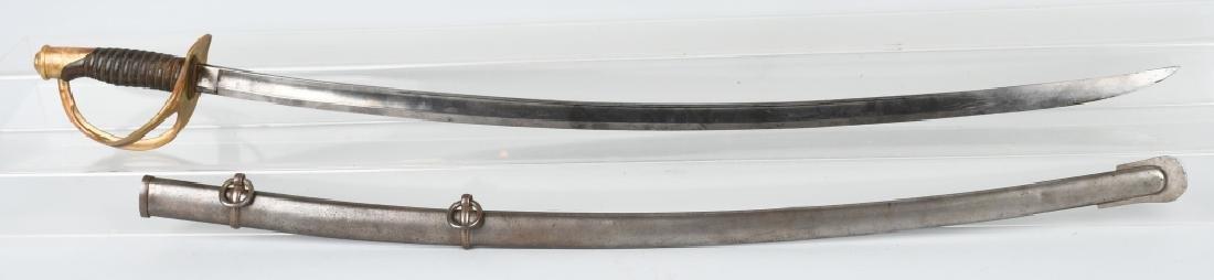 CIVIL WAR M1860 MANSFIELD & LAMB CAVALRY SABER '64