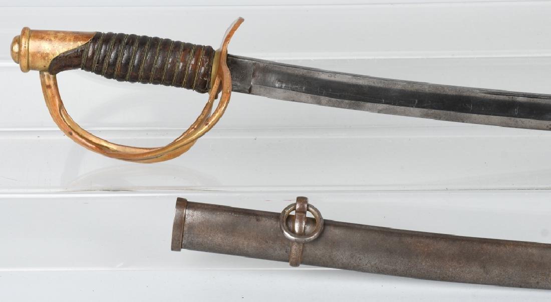 CIVIL WAR M1860 MANSFIELD & LAMB CAVALRY SABER '64 - 2