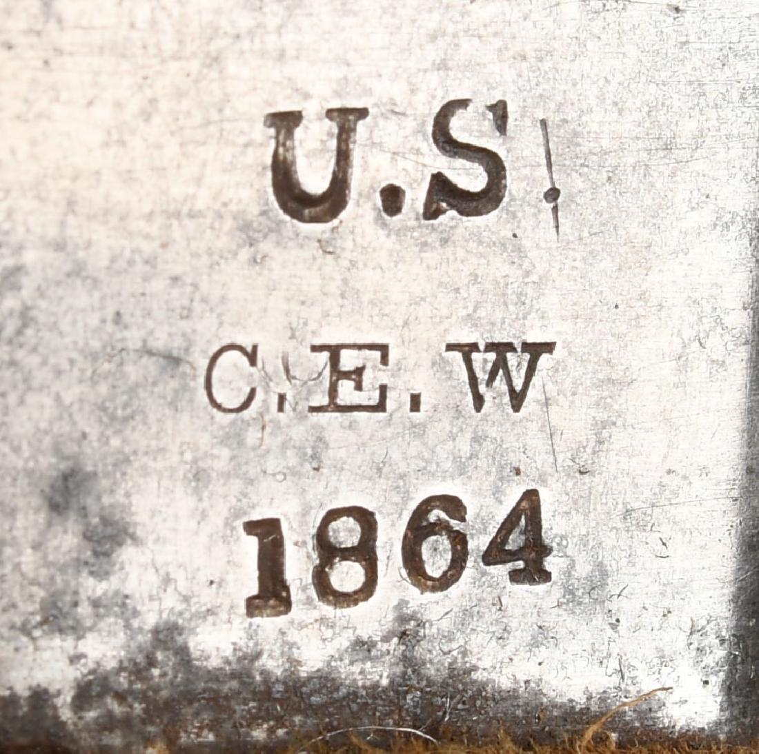 CIVIL WAR M1860 MANSFIELD & LAMB CAVALRY SABER '64 - 5