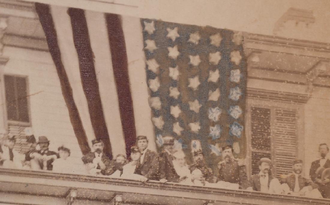 1869 OUTDOOR ALBUMEN 22ND REGT NEW YORK NG CO. B - 10